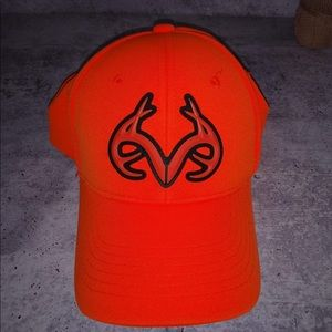 Realtree Orange Hat Velcro Closure